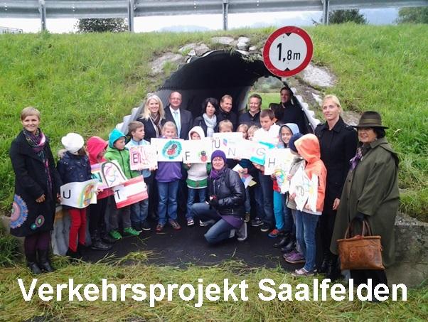 Verkehrssicherheitsaktionen - Verkehrsprojekt Saalfelden