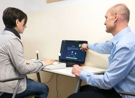 Verkehrspsychologische Untersuchung - Testgerät