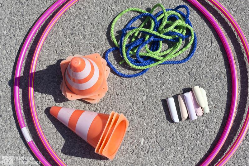 Tools für praktische Übungen Radfahrworkshop