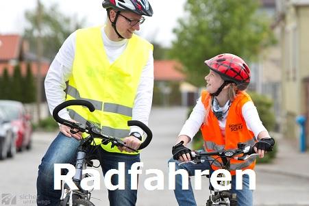 Mobilitäts- und Verkehrserziehung - Radfahrworkshop für Eltern